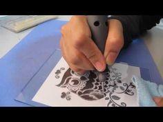 Dremel 4000 : Etching Glass (Beginner) - YouTube