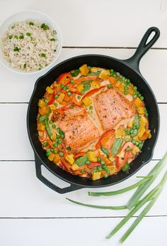 Butternut Squash + Salmon Curry - Simply Real Health