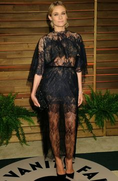 Diane Kruger in Valentino Couture at the 2014 Vanity Fair Oscars Party