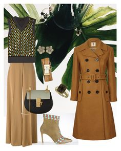 Green Day by yaninna-diaz on Polyvore featuring moda, Marc Jacobs, Orla Kiely, STELLA McCARTNEY, Chloé, Tory Burch, London Road and Shaun Leane