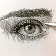 Drawing tips, portrait sketches, portrait art, drawing sketches, pencil dra Easy Eye Drawing, Human Face Drawing, Realistic Eye Drawing, Pencil Drawing Tutorials, Pencil Art Drawings, Life Drawing, Drawing Sketches, Drawing Tips, Pencil Sketching