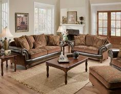 Beau 7500 Living Room Leather U0026 Upholstery Makes For A Gorgeous Upscale Look.  Puritan  Furniture
