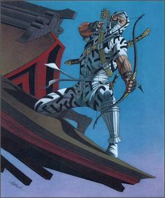 The Wiz Design: 13 Awesome Illustrations of G.I. Joe's Storm Shadow