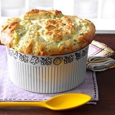 Zucchini & Sweet Corn Souffle Recipe