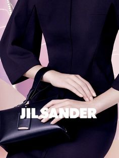Juliane Gruner photographed by David Sims for Jil Sander S/S 2013 ad campaign