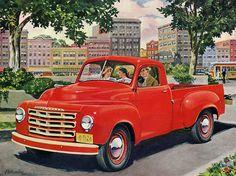 Plan59 :: Classic Truck Art :: 1950 Studebaker
