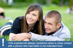 Research on Kissing with Food Allergies - http://www.whyriskit.ca/pages/en/learn/research.php#question_6