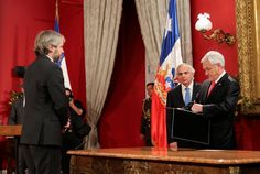 President Sebastian Pinera dismissed his interior and finance ministers on Monday in a major Cabinet reshuffle aimed at taming the biggest political crisis since the country's return to democracy in Chile, Finance, Presidents, Interior, Indoor, Chilis, Finance Books, Economics, Chili