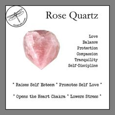Rose Quartz - All About Crystal Healing Stones, Rose Quartz Crystal, Pink Quartz, Chakra Crystals, Crystals And Gemstones, Stones And Crystals, Swarovski Crystals, Crystal Drawing, Crystal Meanings