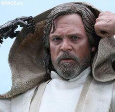 Star Wars: Luke Skywalker, Deluxe-Figur (voll beweglich) ... https://spaceart.de/produkte/sw140.php