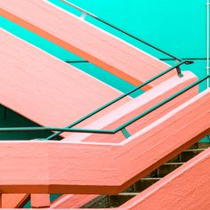 If you like beautiful architecture then you'll love Berlin-based photographer Matthias Heiderich. His series entitled Systems / Layers celebrates the clean lines and candy colours of architecture in Leipzig,. Minimal Photography, Urban Photography, Abstract Photography, Color Photography, Contemporary Photography, Photography Photos, Creative Photography, Contemporary Art, Colour Architecture