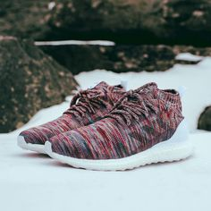 """adidas Originals (@adidasoriginals)   """"It's my favorite shoe of 2016"""" - @ronniefieg Debuting a brand new model from @adidasrunning, the #UltraBOOST Mid from the @KITH Aspen Pack is executed in a multicolour Primeknit upper with a cageless construction. A full BOOST sole and a snug, sock-like enclosure at the ankle ensure comfort and support, with matching laces made from the Primeknit and the unmistakeable 3-Stripes in a subtle taped panelling. Available at select Consortium stores worldwide"""