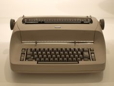 IBM Selectric. I was thrilled to have one of these at a new job years ago!
