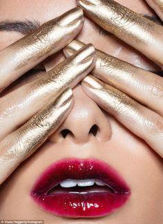 Kylie Jenner FINALLY credits Vlada Haggerty who 'inspired' Lip Kit art #dailymail