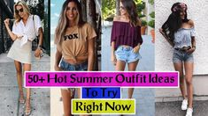 [Style3S] - 50+ Hot Summer Outfit Ideas To Try Right Now | Summer Outfit...