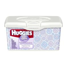 Huggies One & Done Fragrance Free Baby Wipes Tub , 512 Total Wipes 64-Count (Pack of 8) on sale