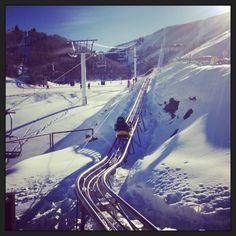 all work, some play. #Sundance mountain roller coaster