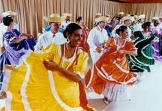 Plena Puerto Rican People Culture Rico Island Dance Clothing