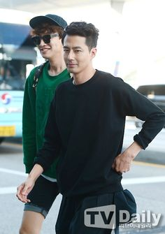 Jo In Sung with Lee Kwang Soo