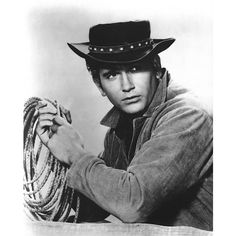 Portrait of Michael Landon from Bonanza TV Show Bonanza Tv Show, Michael Landon, Hollywood Men, Hey Good Lookin, First Tv, Western Movies, Old Tv, Country Boys, Movies Showing