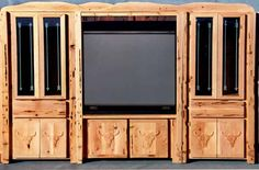Entertainment Center - Hand Crafted In America - CBEC693