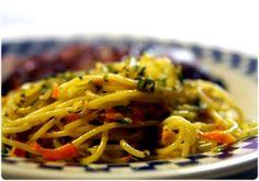 Elviras Bistrot: Esparguete com legumes