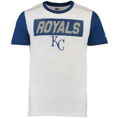 Men's Kansas City Royals New Era Slub Crew Neck T-Shirt W/Contrast Sleeves | Sports Mem, Cards & Fan Shop, Fan Apparel & Souvenirs, Baseball-MLB | eBay!