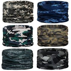 Hiking Fishing NEXTOUR Neck Gaiter Headwear Headband Magic Scarf Seamless Bandana Runing Motorcycle 12 in 1 Multi Function Women Men
