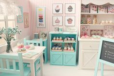 The sweetest miniature dollhouse rooms!