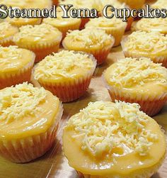 This Steamed Yema Cake Recipe is tried and tested by Mama's Guide friends. Just like the best seller Yema Cake you buy from Laguna. And the yema frosting is so heavenly delish. Pinoy Dessert, Filipino Desserts, Filipino Recipes, Pinoy Food Filipino Dishes, Pinoy Recipe, Torta Recipe Filipino, Filipino Appetizers, Lumpia Recipe, Asian Desserts