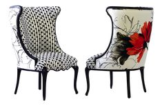 Flora Upholstered Occasional Chair on Chairish.com