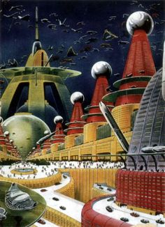 Awesome 1950s sci-fi/fantasy art
