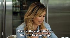 F is for Fresh Makeup.   The Alphabet According To The Kardashians