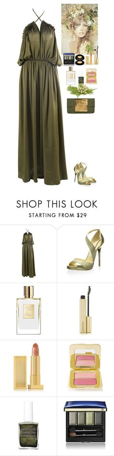 """""""Event"""" by eliza-redkina ❤ liked on Polyvore featuring Jimmy Choo, Kevyn Aucoin, Lipstick Queen, Tom Ford, Clé de Peau Beauté and Dareen Hakim"""