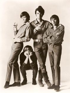"""The Monkees: silly and smart, curious and daring---""""We're the young generation, and we've got something to say"""". So glad my mom introduced me to them and their complex, invigorating story."""