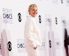 Ellen DeGeneres © Christopher Polk/Getty Images for The People's Choice Awards