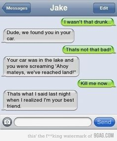 Dude you were so drunk texts cool wallpaper, funny, fails, cat, tired Funny Phone Texts, Funny Drunk Texts, Funny Text Memes, Text Jokes, Drunk Humor, Funny Text Messages, Funny Relatable Memes, Haha Funny, Funny Jokes
