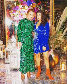 What a wonderful party indeed ⚡️⚡️🧞♀️ Our owners looking fabulous in collection 😍😍😍😍 Rixo London, Famous Brands, Lily Pulitzer, Boutique, Contemporary, Party, Collection, Shopping, Dresses