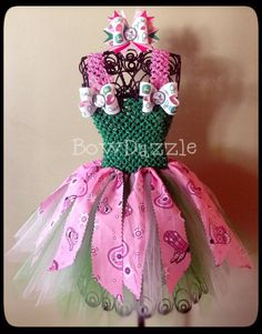 John Deere Country Girl Tutu Dress w/ matching by bowdazzlehair, $55.00