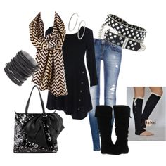 """A Touch of Chevron!"" by betsyboos on Polyvore"