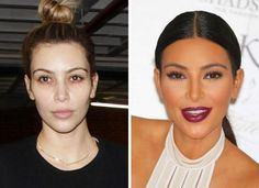 Wow This is What The Kardashians Look Like Without Makeup!