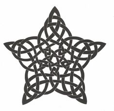 Image result for gaelic knots stars