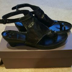 Ixos, Italian-Made Sandals, Soft Leather, Fits 8.5