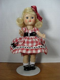 Image result for Blond Ginny Doll #21 Painted Lash Walker from 1954 - by…