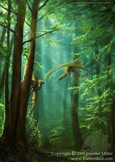 green dragons Fantasy Forest, Fantasy World, Fantasy Art, Fantasy Places, Magical Creatures, Fantasy Creatures, Forest Pictures, Fairy Pictures, Dragon Dreaming