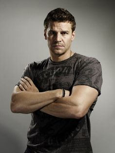 David Boreanaz - American actor, television producer, and director, known for his role as Angel on the supernatural drama series Buffy the Vampire Slayer and Angel, and as Special Agent Seeley Booth on the television crime drama Bones