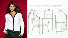 BLOUSES ~ Templates Fashion by Measure