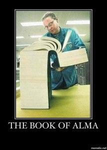 Just about. at least what it feels like when you are trying to read it all in one day....    #MormonFavorites