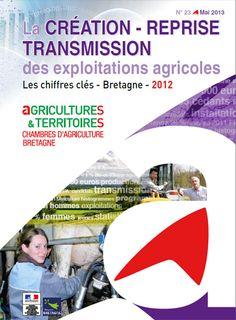 Création, reprise transmission agricole, tous les chiffres clés de l'année 2012 en Bretagne.