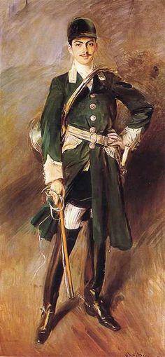 Giovanni Boldini, Portrait d'Olympe Hériot, 1911